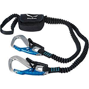 SALEWA Ergo Tex Klettersteigset schwarz/blau
