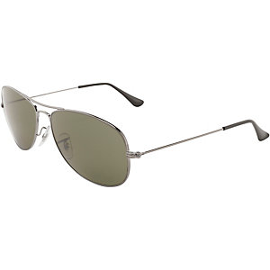 RAY-BAN Cockpit ORB3362 004 59 Sonnenbrille silber