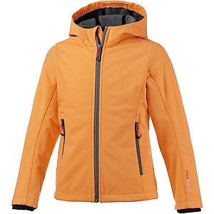 CMP Softshelljacke Mädchen orange/grau