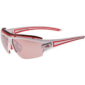 adidas Evil Eye Halfrim Sportbrille weiß/rot