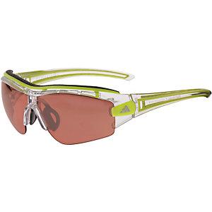 adidas Evil Eye Halfrim pro xs Sportbrille silberfarben/grün
