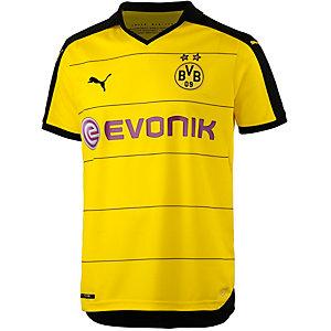 PUMA Borussia Dortmund 15/16 Heim Fußballtrikot Herren gelb/schwarz