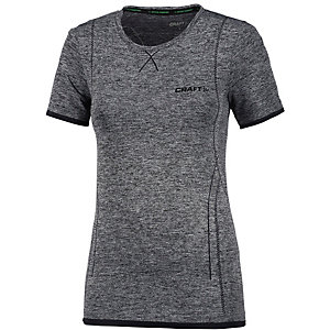 Craft Active Comfort Funktionsshirt Damen schwarz/melange