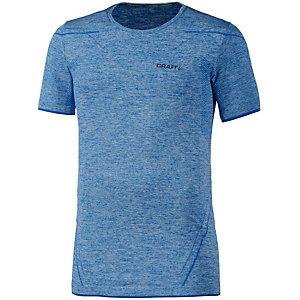 Craft Active Comfort Funktionsshirt Herren blau/melange