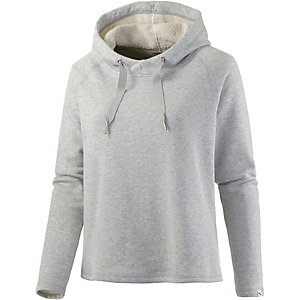puma hoodie damen grau im online shop von sportscheck kaufen. Black Bedroom Furniture Sets. Home Design Ideas