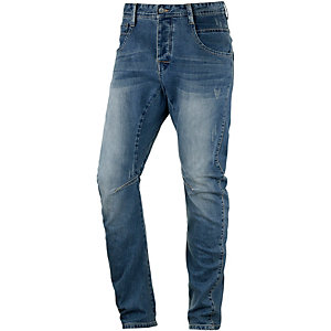 HUMÖR Zuniga Straight Fit Jeans Herren washed denim