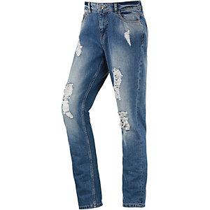 b.young Dema Boyfriend Jeans Damen destroyed denim