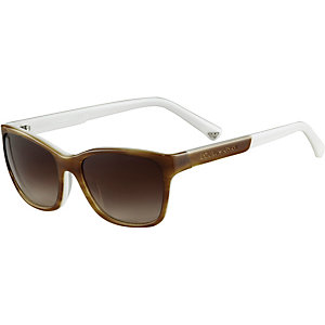Armani Sonnenbrille braun/weiß