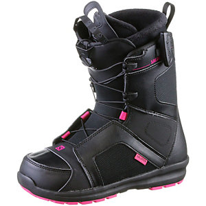 Salomon KEA Snowboard Boots Damen BLACK/Magenta/BLACK
