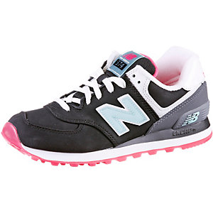 New Balance 574 Damen Schwarz Pink