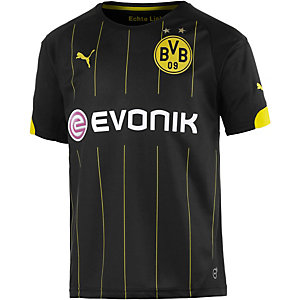 PUMA BVB 15/16 Auswärts Fußballtrikot Kinder schwarz/gelb