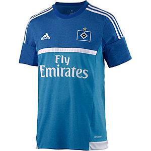 adidas HSV 15/16 3rd Fußballtrikot Herren blau