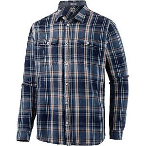 Pepe Jeans Langarmhemd Herren blau/beige
