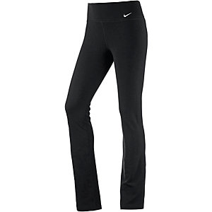 Nike LEGEND DFC SKINNY Trainingshose Damen schwarz