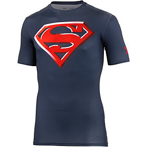 Under Armour Superman 2.0 Comp Kompressionsshirt Herren navy