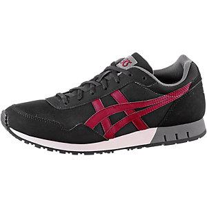 ASICS Curreo Sneaker Herren Black/Burgundy