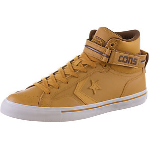 CONVERSE CONS Pro Blaze Plus Leather High Sneaker Herren Antiqued/Chocolate/Mouse