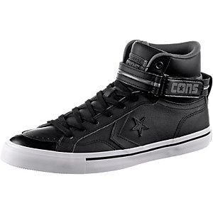 CONVERSE CONS Pro Blaze Plus Leather High Sneaker Herren Black/Thunder/Mouse