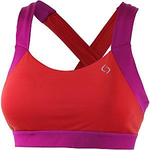 Moving Comfort Uplift Crossback Sport-BH Damen orange/pink