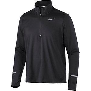 Nike Element Laufshirt Herren schwarz