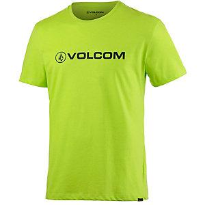 Volcom Afron Printshirt Herren neongelb