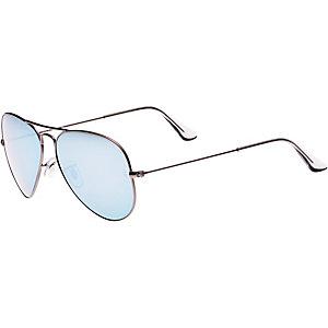 RAY-BAN Aviator 0RB3025 029/30 58 Sonnenbrille blau/goldfarben