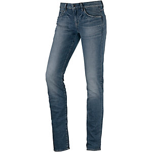 G-Star Attacc Mid Straight Straight Fit Jeans Damen used denim