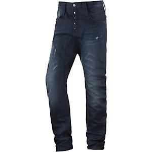 HUMÖR Santiago Anti Fit Jeans Herren washed dark denim