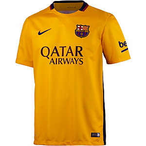 Nike FC Barcelona 15/16 Auswärts Fußballtrikot Herren gelb