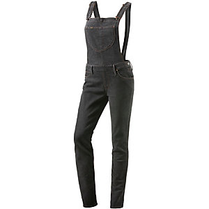 Lee Latzhose Damen black denim