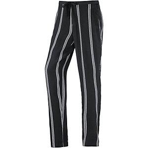 OBJECT Printhose Damen schwarz/weiß