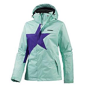 Zimtstern Snowy Funktionsjacke Damen mint/lila