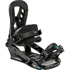 Nitro Snowboards Bindung Pusher Snowboardbindung Herren schwarz