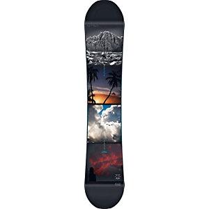 Nitro Snowboards Team Exposure Wide Gullwing All-Mountain Board Herren schwarz