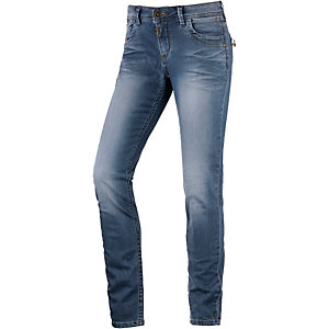 TIMEZONE AureliaTZ Skinny Fit Jeans Damen washed denim