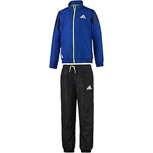 adidas Trainingsanzug Jungen blau/schwarz/gelb