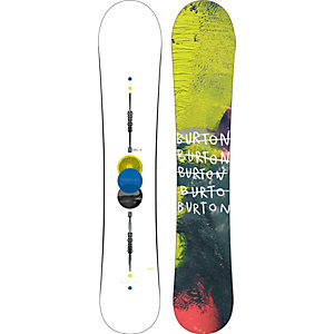 Burton Barracuda Freeride Board Herren weiß