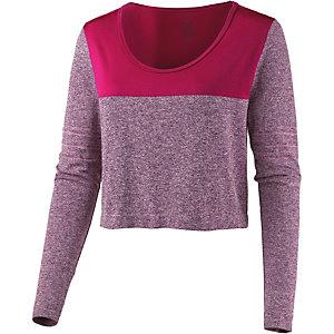 Nike DriFit Knit Funktionsshirt Damen beere/fuchsia