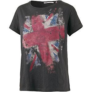 Pepe Jeans Printshirt Damen grau