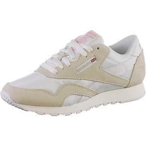 Reebok Classic Nylon W Sneaker Damen weiß/hellgrau