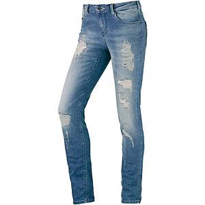Maison Scotch La Parsienne Skinny Fit Jeans Damen destroyed denim