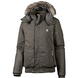 Bench THOUGHT Kapuzenjacke Herren grau