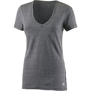 adidas V-Shirt Damen schwarz