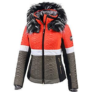 Sportalm Kitzbühel Taha Skijacke Damen rot/weiß/taupe
