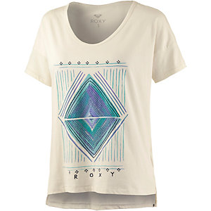 Roxy LOOSETEEA Printshirt Damen weiß