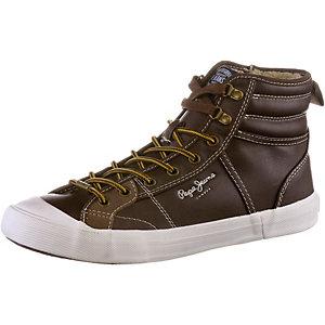 Pepe Jeans Brother Sneaker Herren dunkelbraun