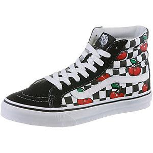 Vans SK8-Hi Slim Sneaker Damen schwarz/weiß