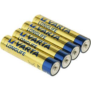 Varta Longlife AAA LR03 Micro Batterie -