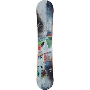 Nitro Snowboards Fate All-Mountain Board Damen grau
