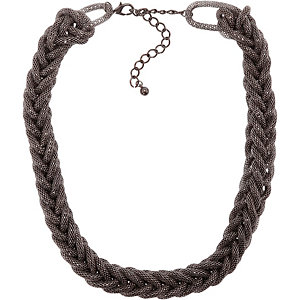 Ichi Halskette Damen silberfarben